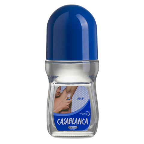 Casablanca Deodorant Roll On Blue For Men (50ml)
