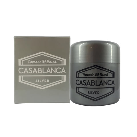 Casablanca Oil-Based Pomade - Silver (50g)