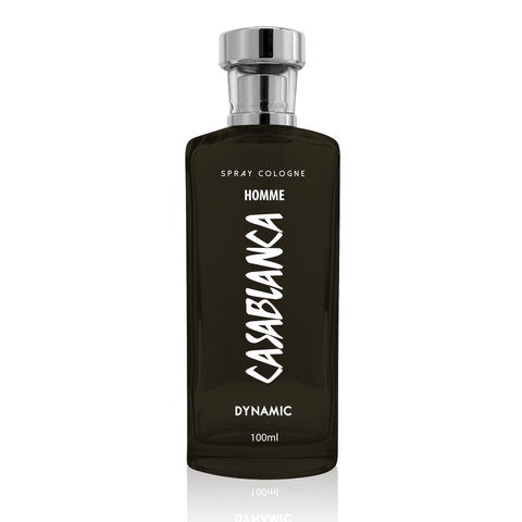 Casablanca Spray Cologne GLASS Homme Grey (Dynamic) 100ml