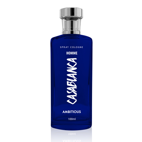 Casablanca Spray Cologne GLASS Homme Dark Blue (Ambitious) 100ml