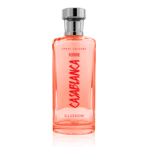 Casablanca Spray Cologne GLASS Femme Orange (Illussion) 100ml