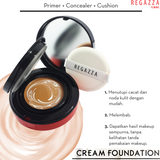 Regazza Cream Foundation 16 gr 02