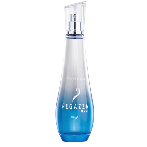 Regazza Spray Cologne Classy (Blue, 100ml)
