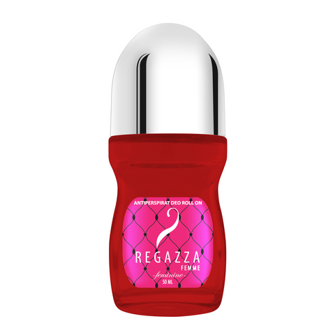 Regazza Antiperspirant Deo Roll On Feminine (Pink, 50ml)