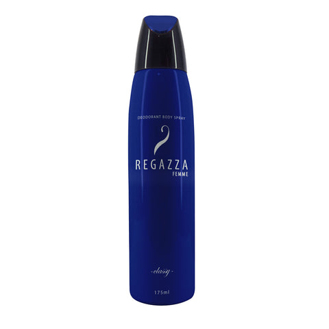 Regazza Deodorant Spray Classy (Blue, 175ml) 2017 Edition