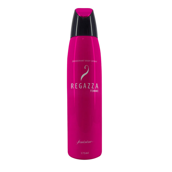Regazza Deodorant Spray Feminine (Pink, 175ml) 2017 Edition