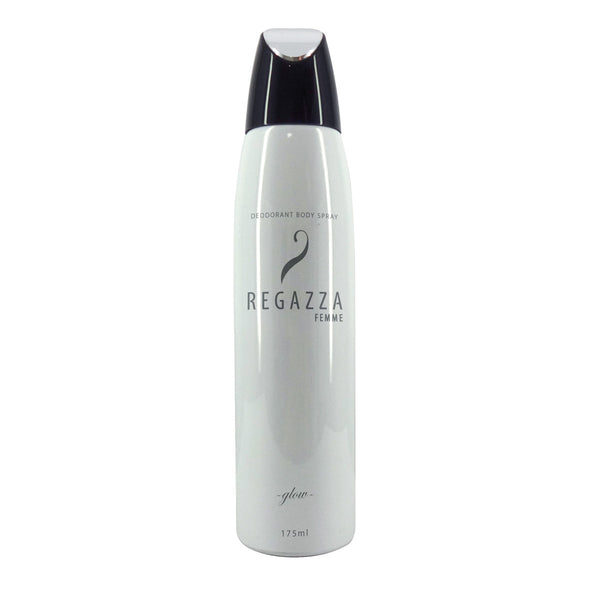 Regazza Deodorant Spray Glow (White, 175ml) 2017 Edition
