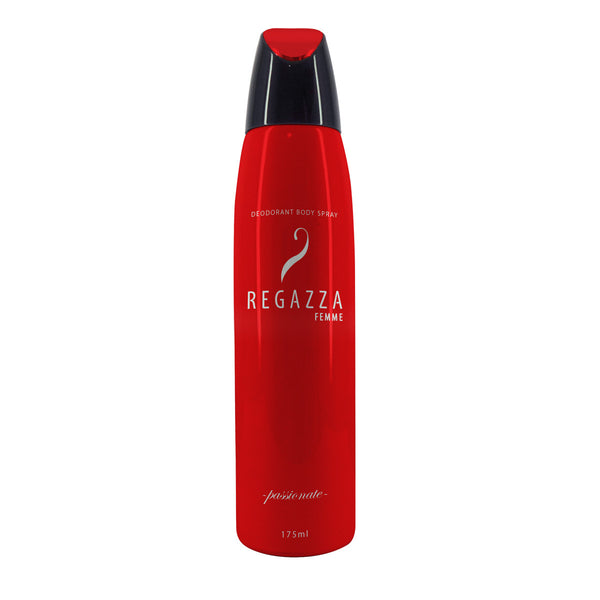 Regazza Deodorant Spray Passionate (Red, 175ml) 2017 Edition