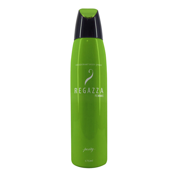 Regazza Deodorant Spray Purity (Green, 175ml) 2017 Edition