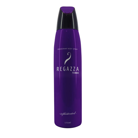 Regazza Deodorant Spray Sophisticated (Violet, 175ml) 2017 Edition