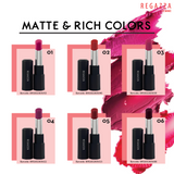 Regazza Velvet Matte Lipstick 5gr 04 (Rose Red)