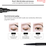 Regazza Eyebrow Pencil 0.25gr 01 Light Grey