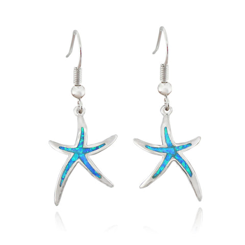 Star starfish pendant Earrings