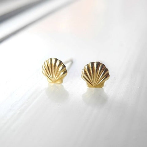 SeaShell Earrings Stud Earrings Mermaid Jewelry