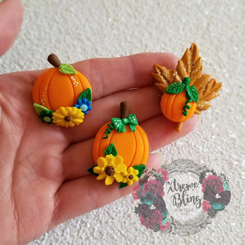 Fall Pumpkin/Leaf Clay - Multi Option (Includes 1 Clay)