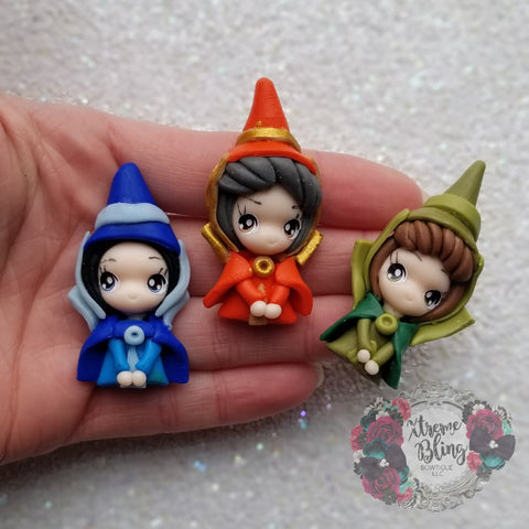 Sleeping Beauty Fairies Clay (Includes 1 Clay)