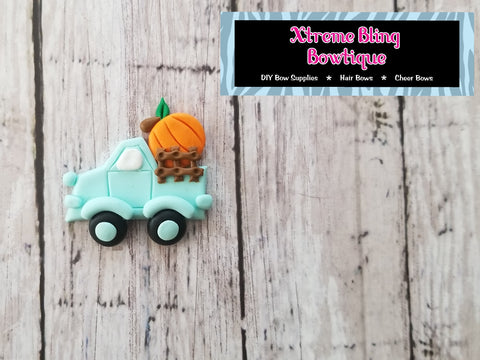 Pumpkin Truck Clay (11C) (Includes 1 Clay)