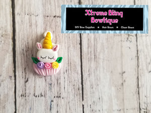 Mini Unicorn Cupcake Clay (13D) (Includes 1 Clay)
