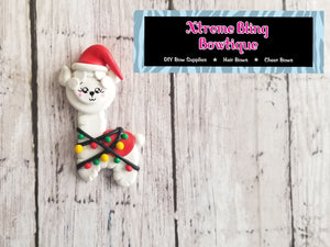 Christmas Llama Clay (Includes 1 Clay)(6C)