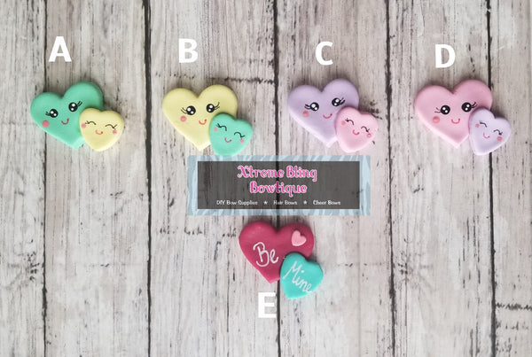 Valentines Heart Clay - Multi Options (Includes 1 Clay)