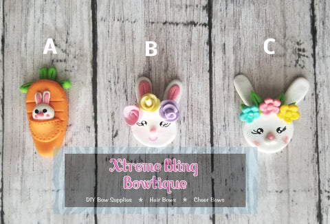 Bunny Easter Clay - Multi Options (Includes 1 Clay)
