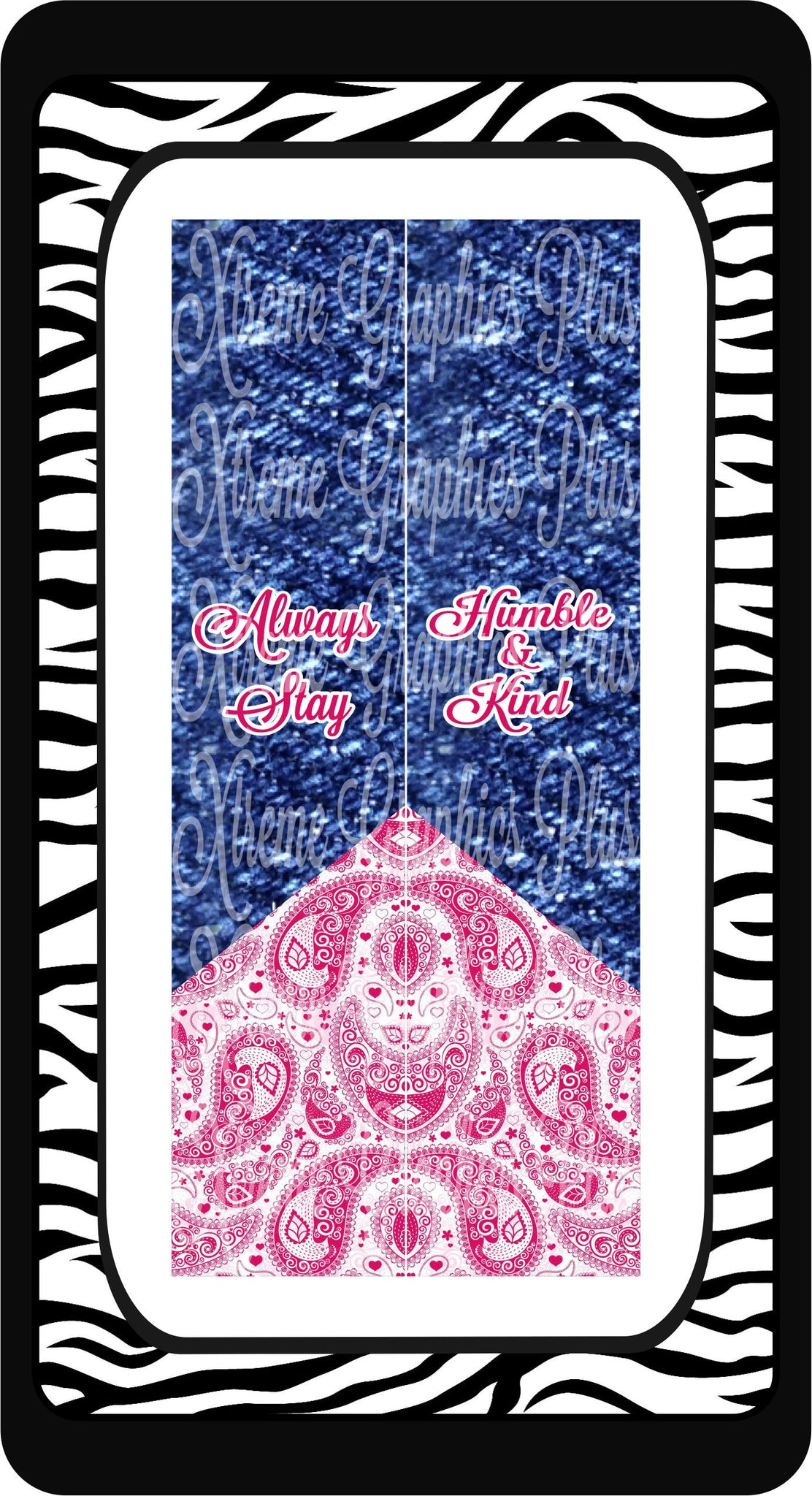 Always Stay Humble & Kind Sublimation Bow Strips Download