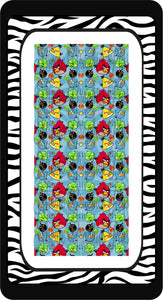 Angry Birds Ready to Press Sublimation Bow Strips