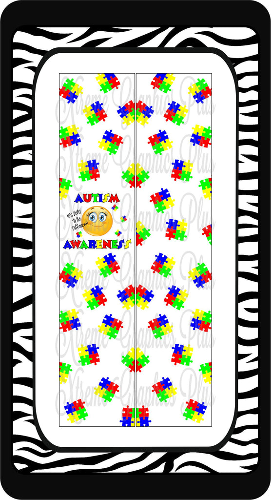 Autism It's OKAY To Be Different Sublimation Bow Strips Download – Xtreme  Bling Bowtique LLC