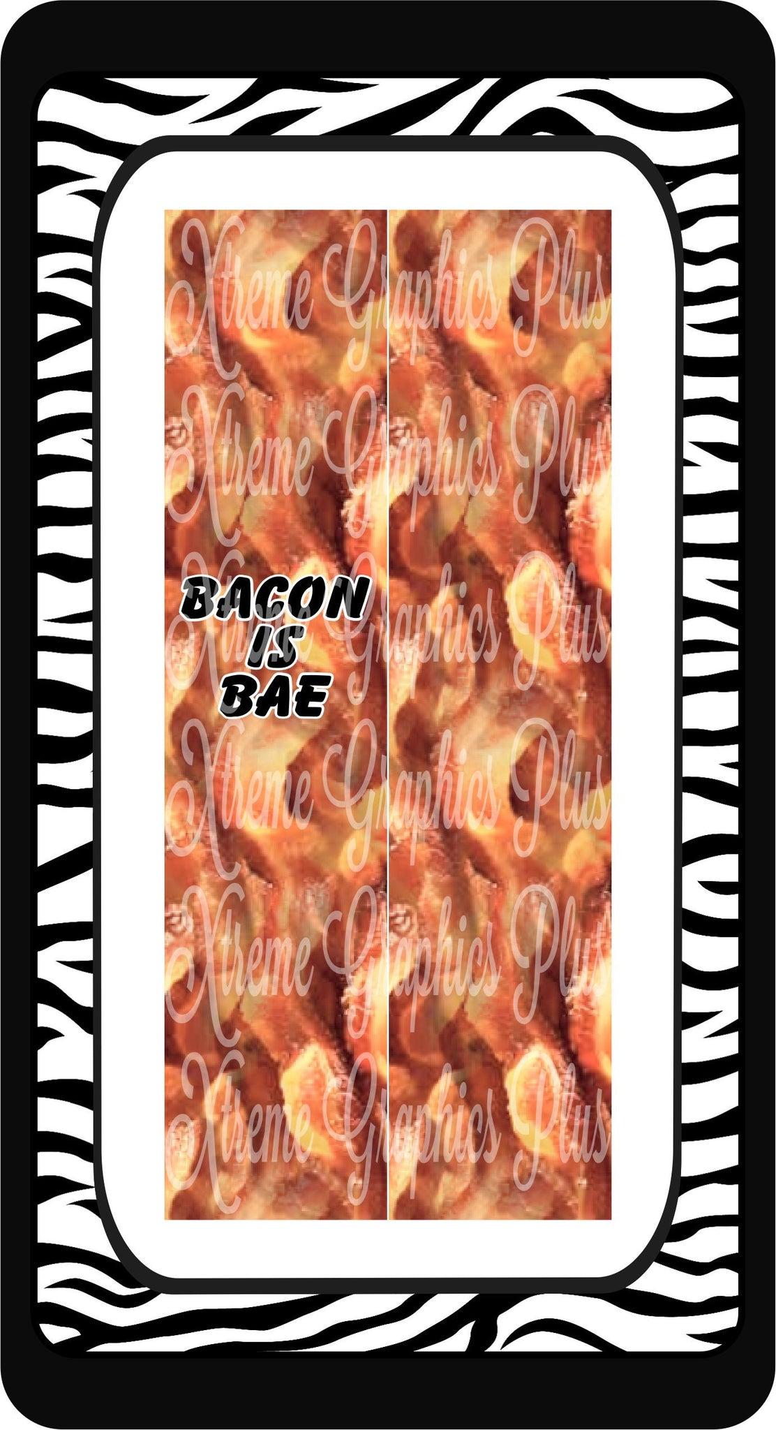 Bacon Is Bae Sublimation Bow Strips Download