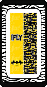 Batman I Fly Ready to Press Sublimation Bow Strips