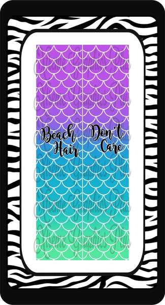 Beach Hair Don't Care Sublimation Bow Strips Download