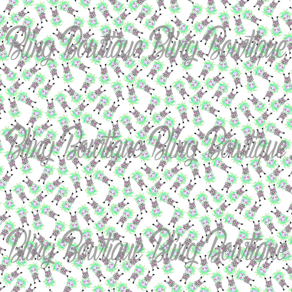 Beetlejuice 2 Glitter Canvas, Regular Canvas, Faux Leather For Bow