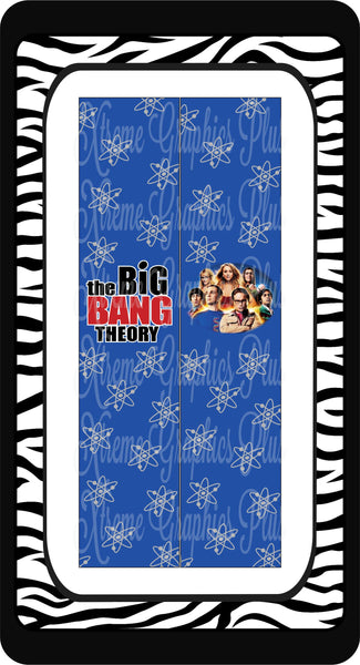 Big Bang Theory Ready to Press Sublimation Bow Strips