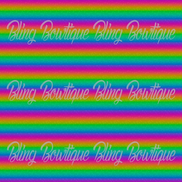 Rainbow Bright Ombre Glitter Canvas, Regular Canvas, Faux Leather For Bows