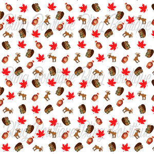 Canada Glitter Canvas, Regular Canvas, Faux Leather For Bows
