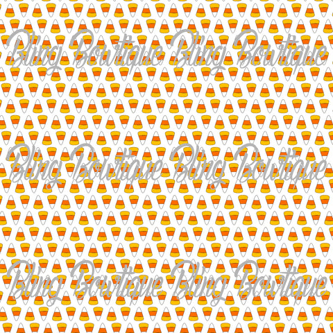 Candy Corn 2 Printed Glitter Canvas, Regular Canvas, Faux Leather For Bows