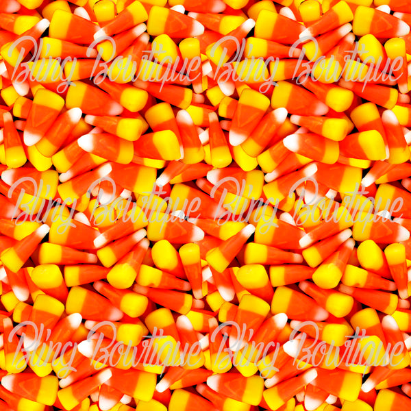 Candy Corn Glitter Canvas, Regular Canvas, Faux Leather For Bows