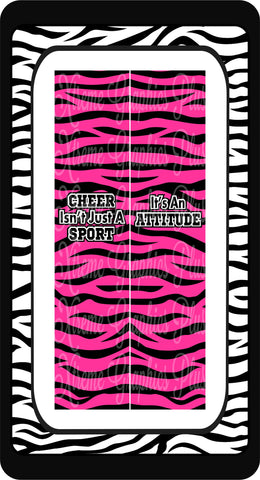 Cheer Isn't Just A Sport It's An Attitude Ready to Press Sublimation Bow Strips