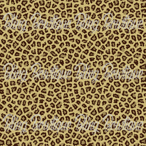 Cheetah Glitter Canvas, Regular Canvas, Faux Leather For Bows