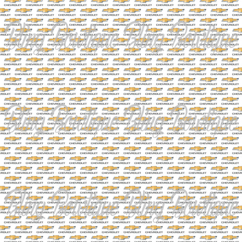 Chevrolet Printed Glitter Canvas, Regular Canvas, Faux Leather For Bows