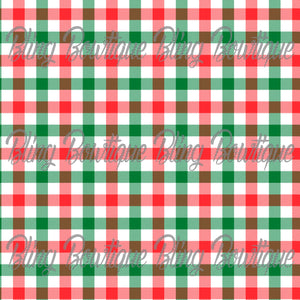 Christmas Tartan 9 Glitter Canvas, Regular Canvas, Faux Leather For Bows
