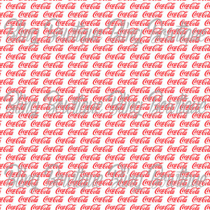 Coca Cola Glitter Canvas, Regular Canvas, Faux Leather For Bows