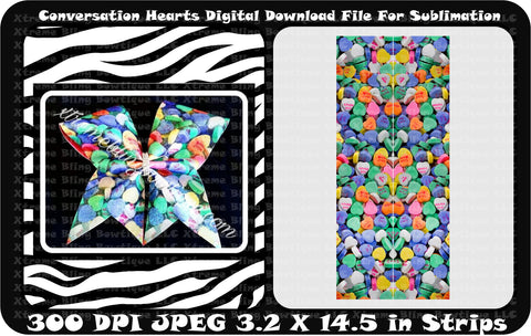 Under sea Cheer Bow Sublimation download Sublimation Strips Salty but Sweet Seahorse