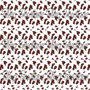 Cow 2 Glitter Canvas, Regular Canvas, Faux Leather For Bows