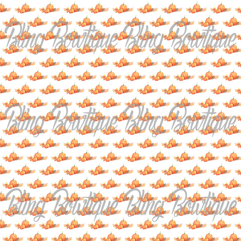 Fall Pumpkins Glitter Canvas, Regular Canvas, Faux Leather For Bows