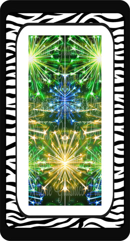 Fireworks 2 Ready to Press Sublimation Bow Strips