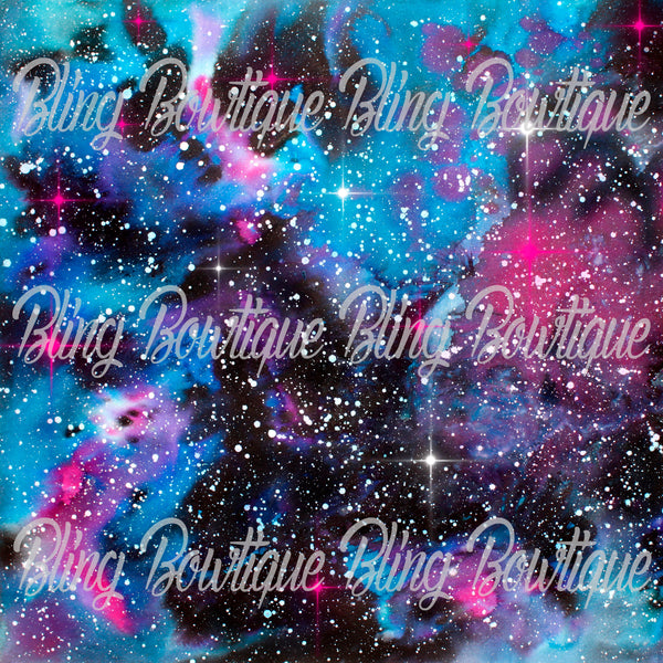 Galaxy 10 Glitter Canvas, Regular Canvas, Faux Leather For Bows