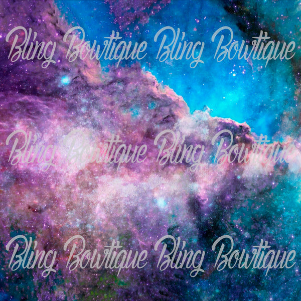 Galaxy 6 Glitter Canvas, Regular Canvas, Faux Leather For Bows