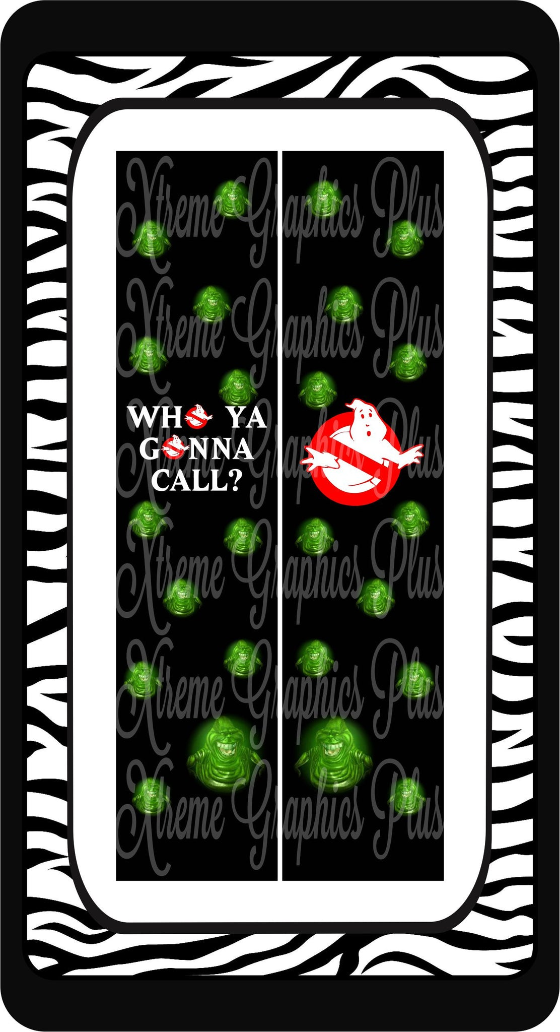 Ghostbusters Ready to Press Sublimation Bow Strips