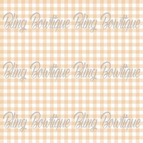 Gingham 20 Glitter Canvas, Regular Canvas, Faux Leather For Bows